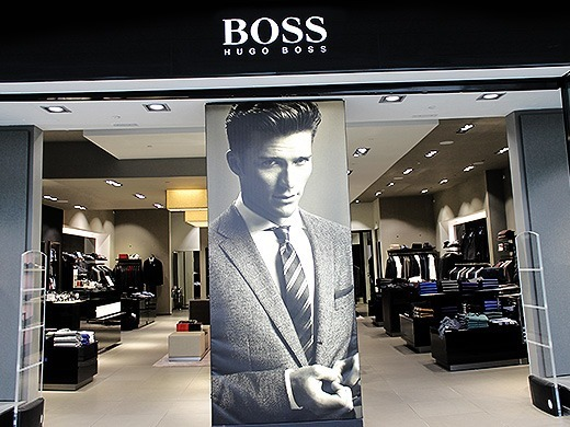 nearest hugo boss store